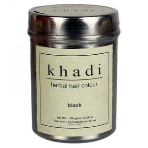 Buy Khadi Natural Black Hair Colour - Nykaa
