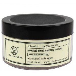 Buy Khadi Natural Herbal Anti Ageing Cream - Nykaa