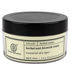 Buy Khadi Natural Herbal Anti Blemish Cream - Nykaa