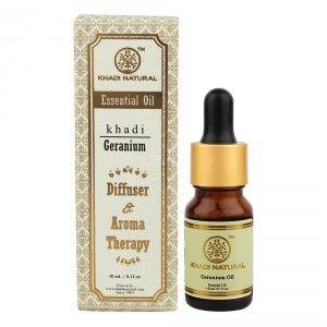 Buy Khadi Natural Geranium Essential Oil - Nykaa