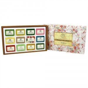 Buy Khadi Natural Handmade Soap Collection (Set Of 12) - Nykaa