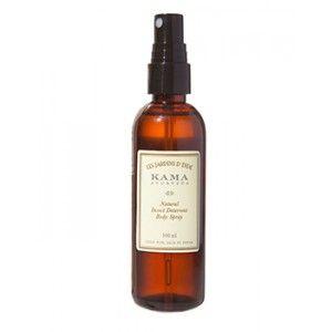 Buy Kama Ayurveda Natural Insect Deterrent Body Spray - Nykaa