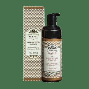 Buy Kama Ayurveda Shaving Foam With Essential Oils Of Sandalwood & Mint - Nykaa