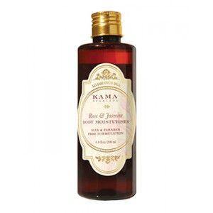 Buy Kama Ayurveda Rose And Jasmine Body Moisturiser - Nykaa