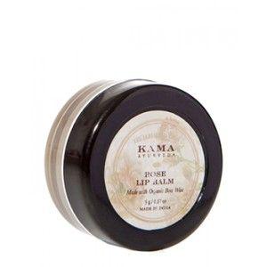 Buy Kama Ayurveda Rose Lip Balm - Nykaa