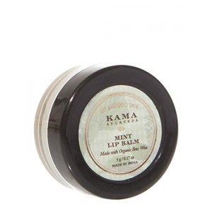 Buy Kama Ayurveda Mint Lip Balm - Nykaa