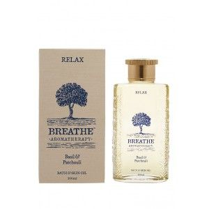 Buy Breathe Aromatherapy Relax Skin And Bath Oil - 100ml - Nykaa