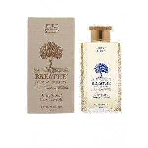 Buy Breathe Aromatherapy Pure Sleep Bath And Skin Oil - 100ml - Nykaa