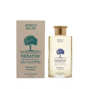 Buy Breathe Aromatherapy Muscle Relief Bath And Skin Oil - 100ml - Nykaa