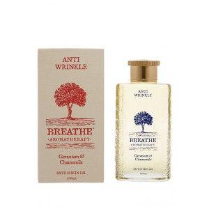 Buy Breathe Aromatherapy Anti Wrinkle Bath And Skin Oil - Nykaa