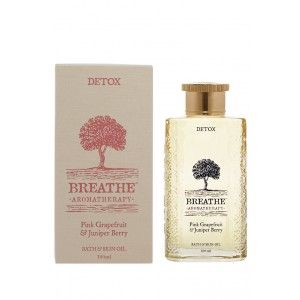Buy Breathe Aromatherapy Detox Bath And Skin Oil - Nykaa