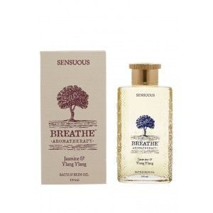 Buy Breathe Aromatherapy Sensuous Bath And Skin Oil - Nykaa