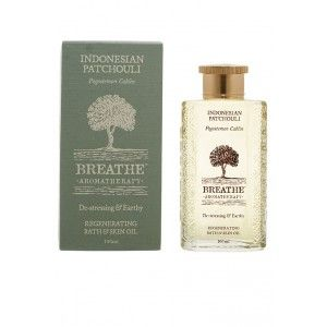 Buy Breathe Aromatherapy Indonesian Patchouli Bath And Skin Oil - Nykaa