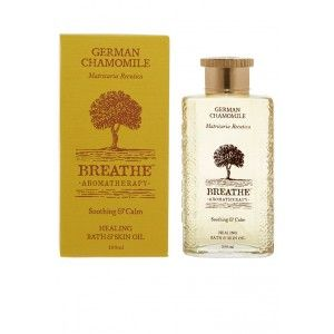 Buy Breathe Aromatherapy German Chamomile Bath And Skin Oil - Nykaa