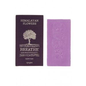 Buy Breathe Aromatherapy Himalayan Flowers Soap - Nykaa