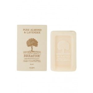Buy Breathe Aromatherapy Almond And Lavender Soap - Nykaa