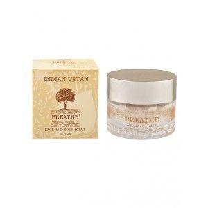Buy Breathe Aromatherapy Indian Ubtan Face & Body Scrub - Nykaa