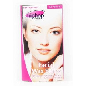 Buy HipHop Pink Facial Wax Strips - Nykaa