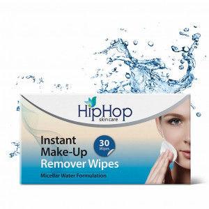 Buy HipHop MakeUp Remover Wipes - Micellar Water (30 wipes) - Nykaa