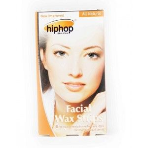 Buy HipHop Orange Facial Wax Strips - Nykaa