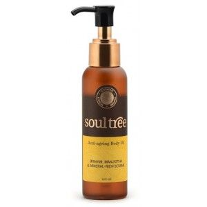 Buy SoulTree Anti-Ageing Body Oil - Nykaa