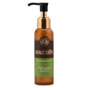 Buy SoulTree Revitalising Hair oil - Nykaa