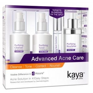 Buy Kaya Advanced Acne Care Kit  - Nykaa