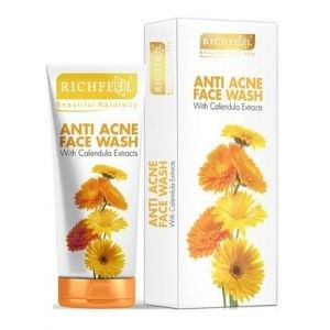 Buy Richfeel Anti Acne With Calendula Extracts Face Wash - Nykaa