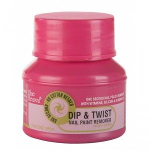 Buy Blue Heaven Dip & Twist Nail Paint Remover - Nykaa