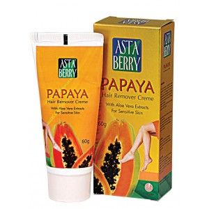 Buy Astaberry Papaya Hair Remover - (60 gm) - Nykaa