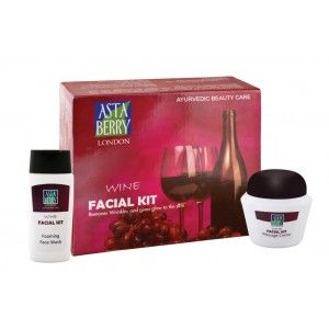 Buy Astaberry Wine Facial Big Kit  - Nykaa