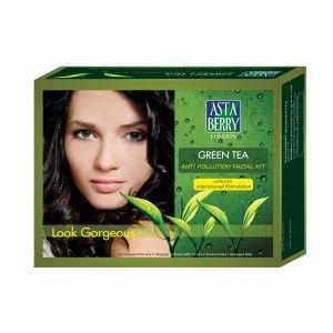 Buy Astaberry Green Tea Facial Kit  - Nykaa