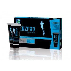 Buy Astaberry Menzpro Facial Mini Kit + Free Menzpro Shaving Gel Worth Rs.70/- - Nykaa