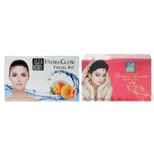 Buy Astaberry Bridal Aroma + Hydra Glow Facial Kit(Combo Price) - Nykaa