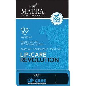 Buy Matra 100% Natural Lip Balm Vanilla Ice, SPF & Moroccan Gold Infused - Nykaa