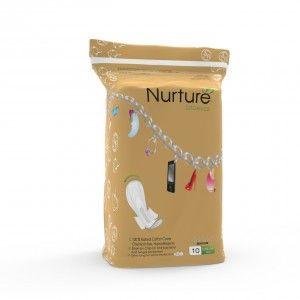 Buy Nurture Organics Ultra Long - 10 Pads (350mm) - Nykaa