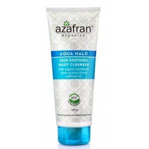 Buy Azafran Organics Aqua Halo Skin Soothing Body Cleanser - Nykaa