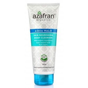 Buy Azafran Organics Aqua Halo Skin Nourishing Body Cleanser - Nykaa