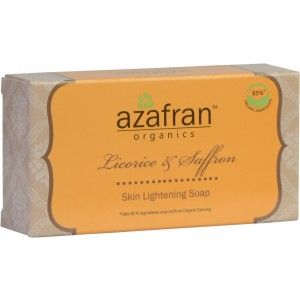 Buy Azafran Organics Licorice & Saffron Soap - Nykaa