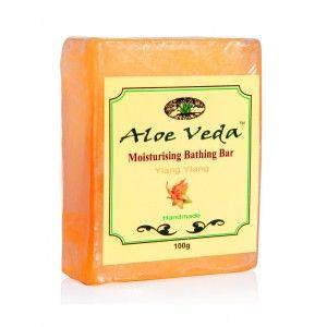 Buy Aloe Veda  Moisturising Bathing Bar - Ylang Ylang - Nykaa