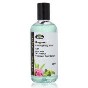 Buy Aloe Veda  Bergamot Calming Body Wash - Nykaa