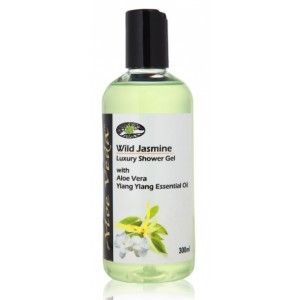 Buy Aloe Veda  Wild Jasmine Luxury Shower Gel - Nykaa