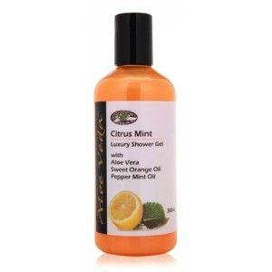 Buy Aloe Veda  Citrus Mint Luxury Shower Gel - Nykaa