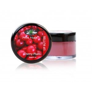 Buy Aloe Veda  Lip Butter - Cherry Plum - Nykaa