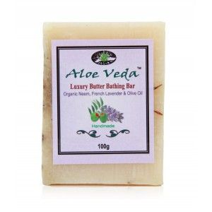 Buy Aloe Veda Luxury Butter Bar - Neem & French Lavender with Olive Oil - Nykaa
