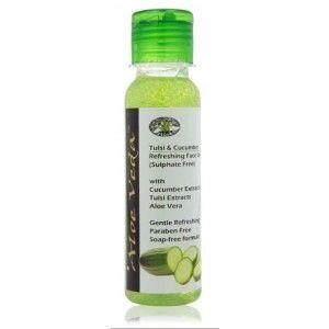 Buy Aloe Veda Tulsi & Cucumber Refreshing Face Wash - Nykaa