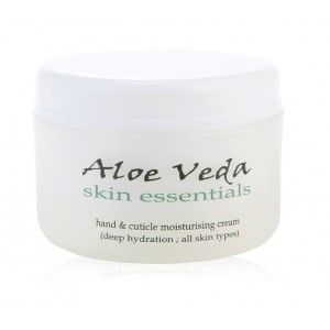 Buy Aloe Veda Skin Essential Hand & Cuticle Moisturising Cream - Nykaa