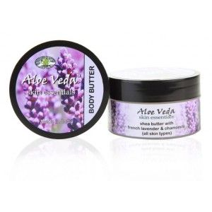Buy Aloe Veda Skin Essential Luxury Body Butter - French Lavender & Chamomile - Nykaa