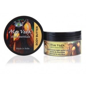 Buy Aloe Veda Skin Essential Luxury Body Butter-Chocolate Vanilla (For Oily Skin) - Nykaa