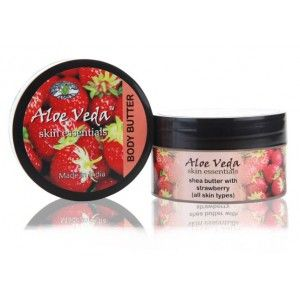 Buy Aloe Veda Skin Essential Luxury Body Butter - Strawberry - Nykaa